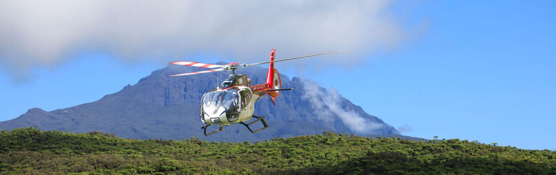 hélicoptère Réunion, vol en hélicoptère